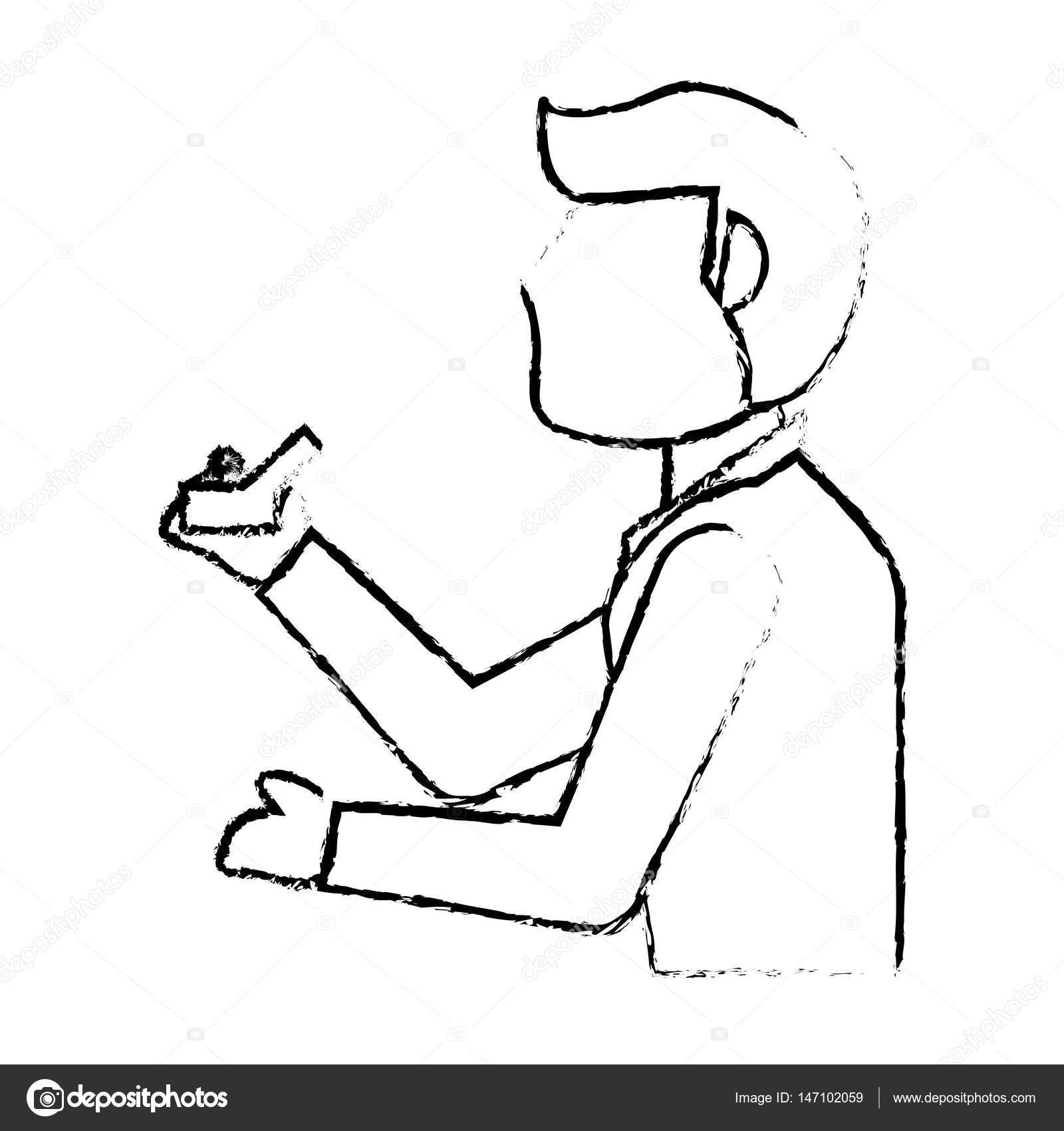 1600x1700 Portrait Groom Ring Wedding Sketch Stock Vector Jemastock