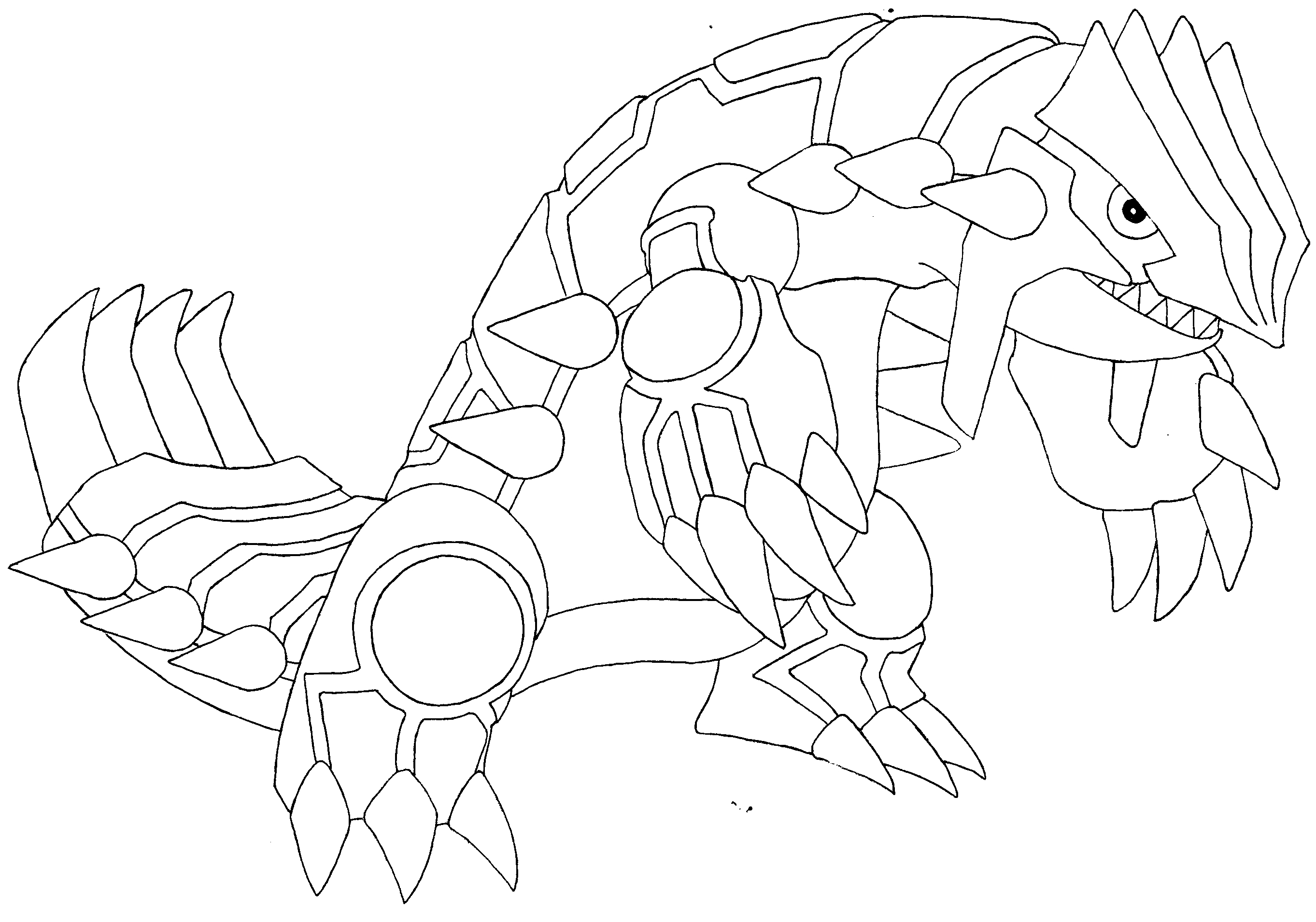 Groudon Drawing at GetDrawings | Free download