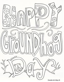 Groundhog Drawing at GetDrawings.com | Free for personal use ...