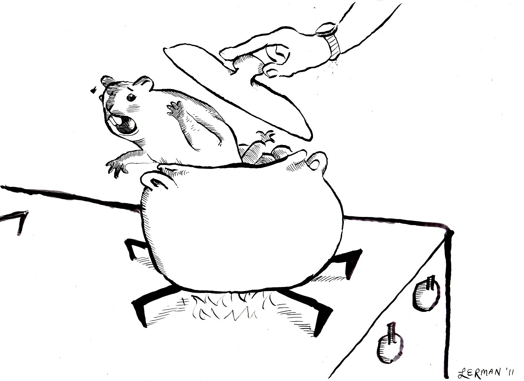 1684x1224 Braised Groundhog Recipe