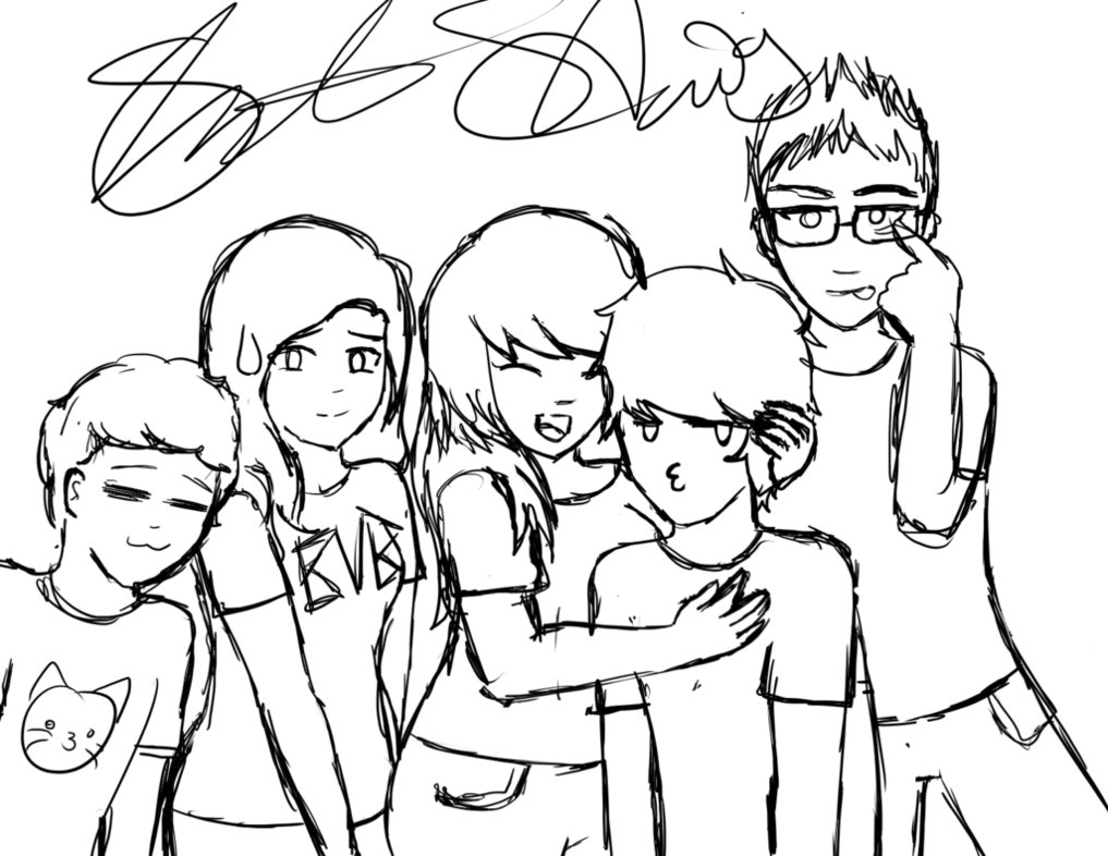 1017x786 Day 13 Draw A Group Picture By Sammiet83