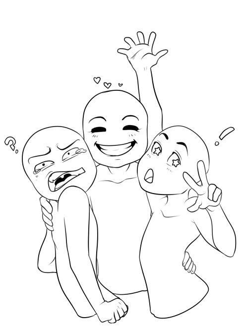 500x667 Group Draw Anime Amino