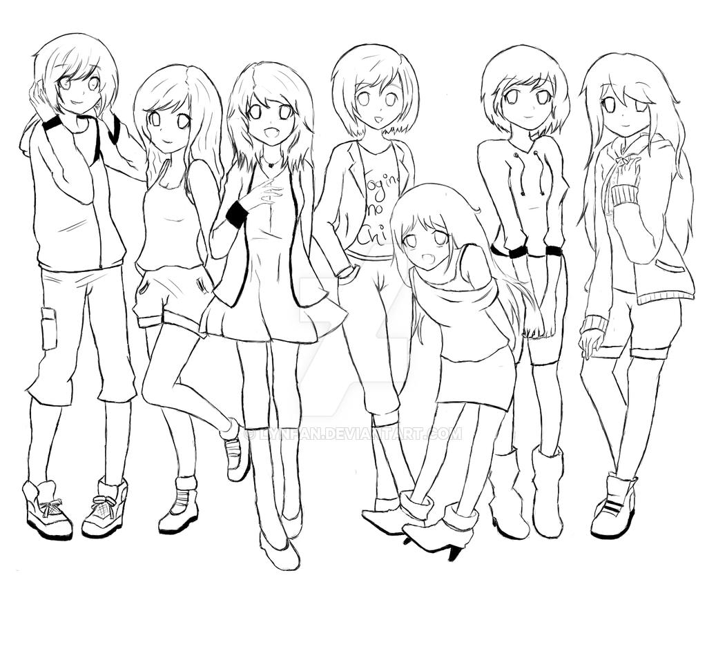 1024x956 Naja Wir Halt Anime Group By Lynfan