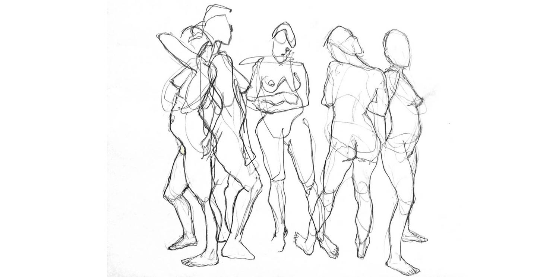 1500x746 Saturday Life Drawing Group Fall Session Waterfall Arts