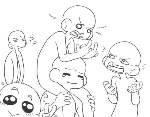 500x392 Group Drawings Tumblr