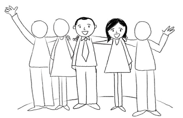 585x378 Simple Drawing Tip People Part 2 Graphic Recording Studio