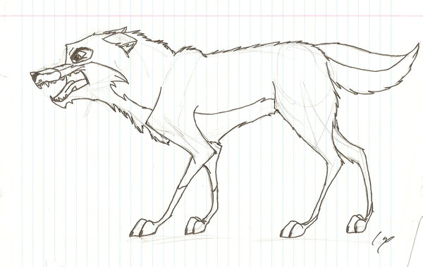 600x379 Balto Growling By Wolfdog27