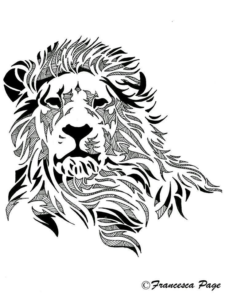 736x975 Logos On Lion Logo, Logo Design And Negative Space