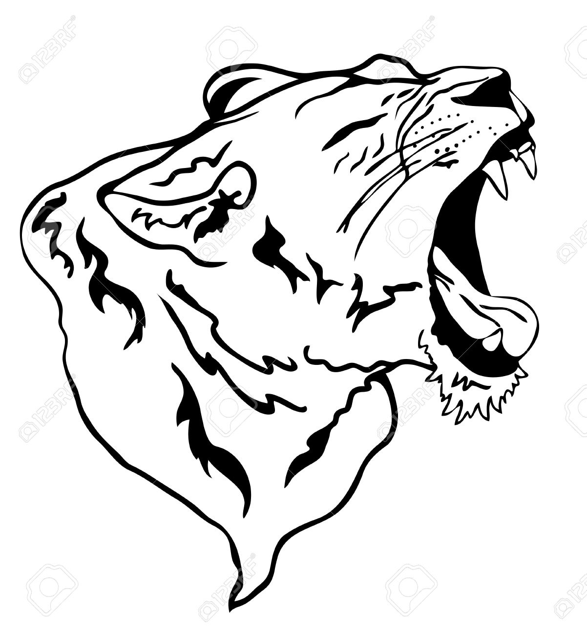 1202x1300 Vector Lion Roaring Royalty Free Cliparts, Vectors, And Stock