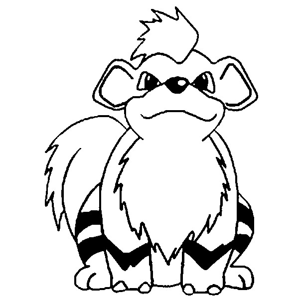 Growlithe Drawing at GetDrawings.com | Free for personal use ...