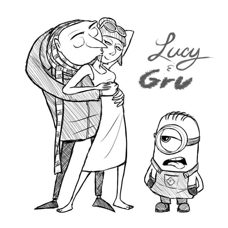 Gru Drawing