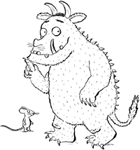 Gruffalo Drawing