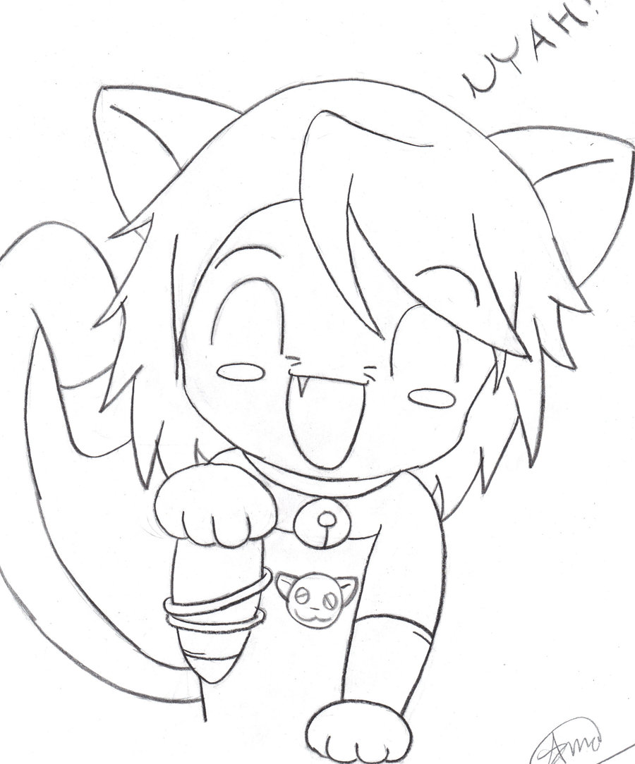 900x1084 Drawing How To Draw Chibi Warrior Cat Plus How Do You Draw