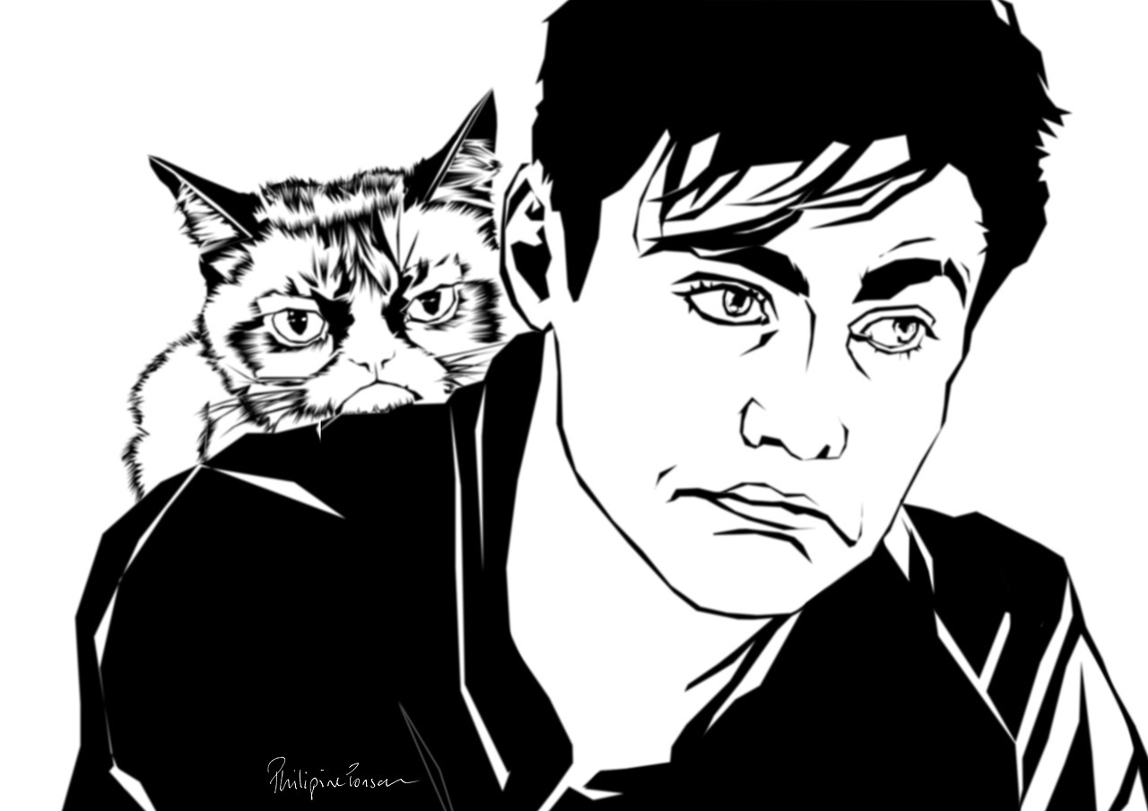 1280x905 Phil Draws Fan Arts. Alec Grumpy Cat Lightwood. =d