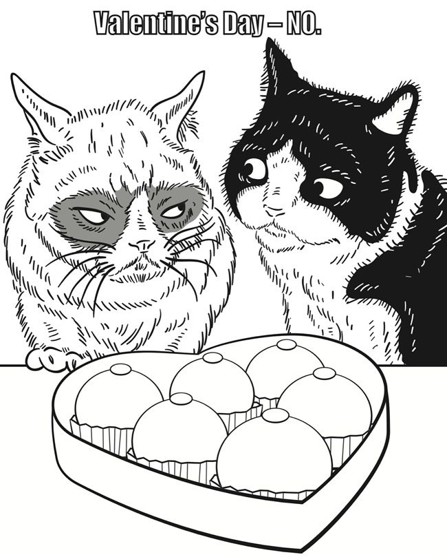 650x809 Welcome To Dover Publications Grumpy Cat Coloring Book Grumpy