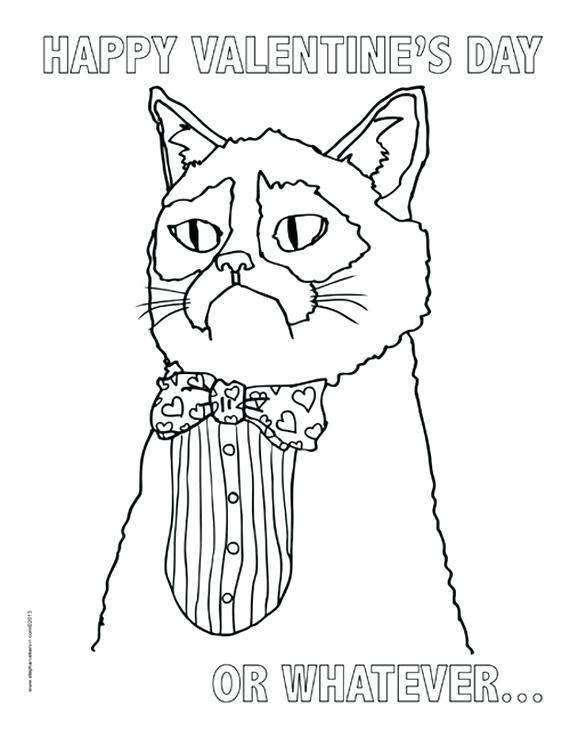 570x738 Grumpy Cat Coloring Pages Site Image Grumpy Cat Coloring Pages