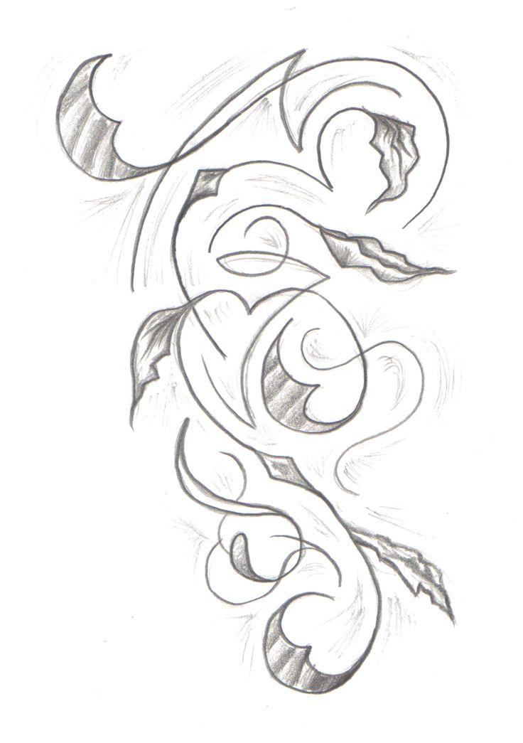 Gucci Mane Tattoo Drawing