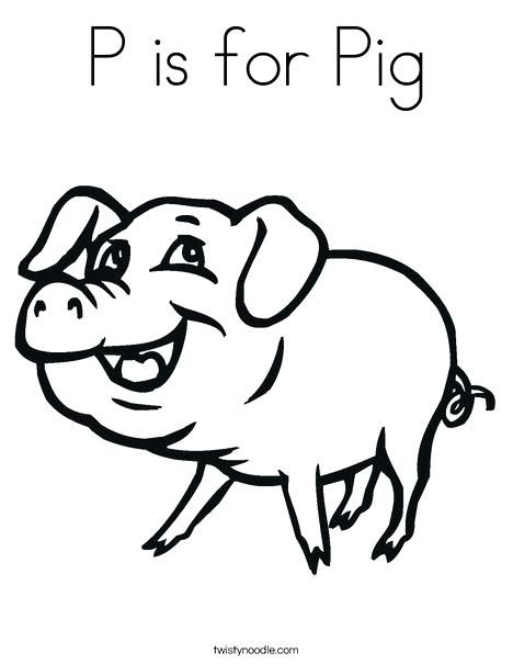 468x605 Pig Coloring Pages Happy Pig Coloring Page Cute Baby Guinea Pig