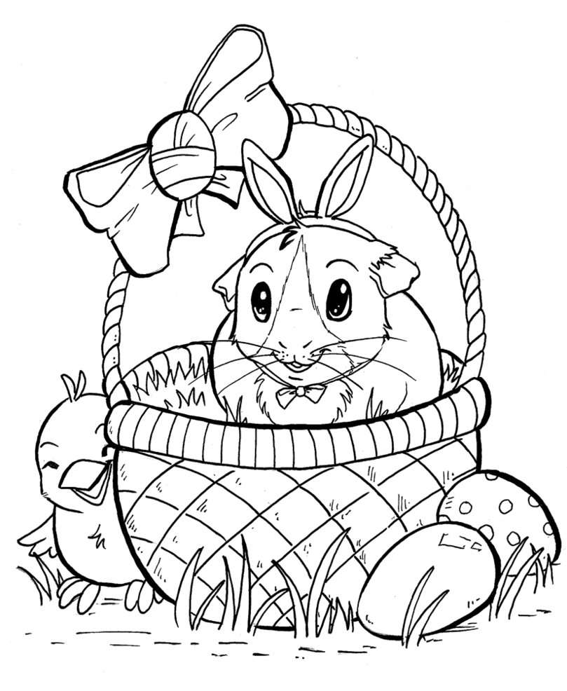 809x986 Easter Pig By Konekonoarashi