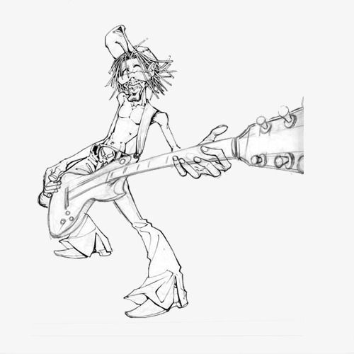 500x500 Guitar Drawing Png Images Vectors And Psd Files Free Download