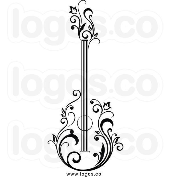 600x620 Acoustic Guitar Clip Art Clipart Panda