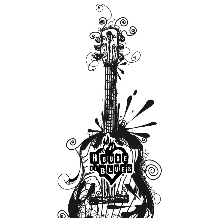864x864 Play On! Guitar, Music, Drawing, Sketch, Art, House Of Blues