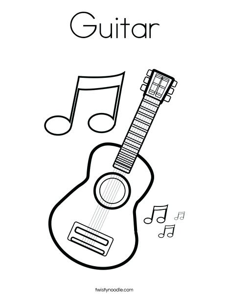 468x605 Electric Guitar Coloring Pages Best Images On Worksheets Drawing