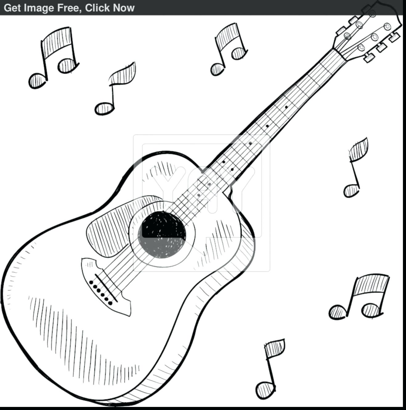 1318x1331 Coloring Electric Guitar Page