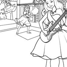 220x220 Guitar Coloring Pages, Drawing For Kids, Kids Crafts