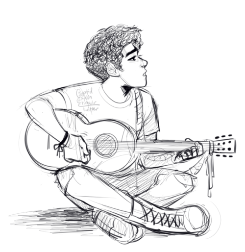 500x514 Im Never Drawing A Guitar Ever Again Tumblr
