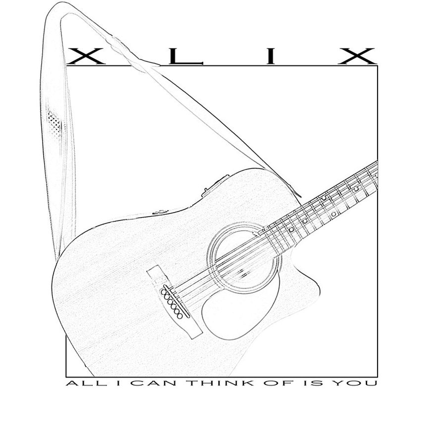 894x894 Album Art Guitar Sketch By Thefortyfifthword