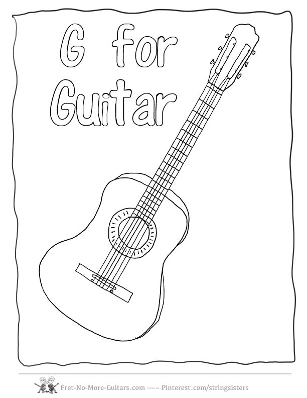 guitar drawing outline at getdrawings com
