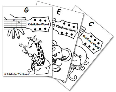 400x316 Guitar Chords For Kids