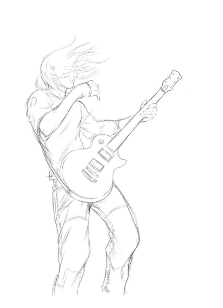 761x1050 Guitarplayer By X Kamilion X