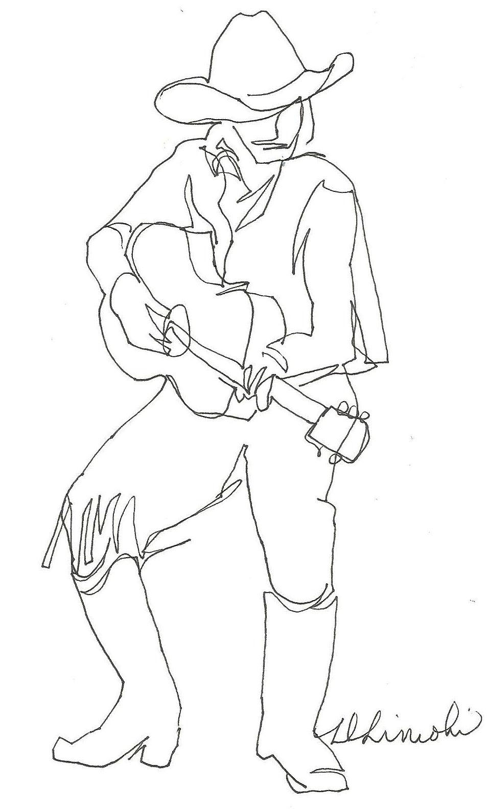 957x1581 Now Or Never Cowboy Guitar Player