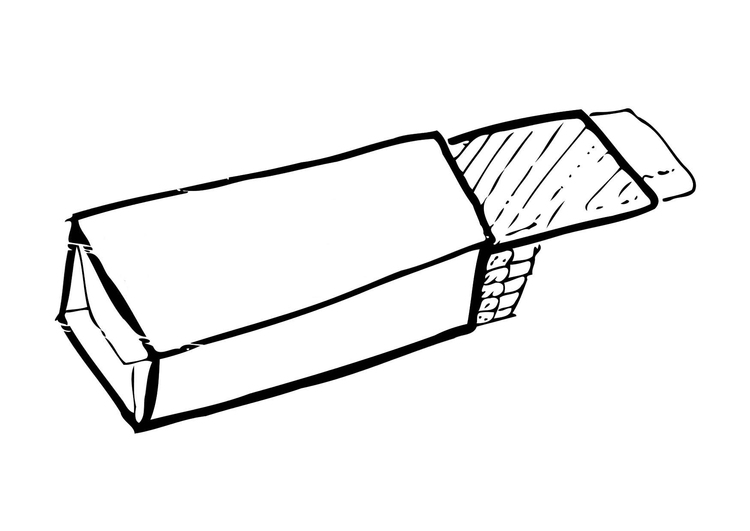 750x531 Coloring Page Chewing Gum