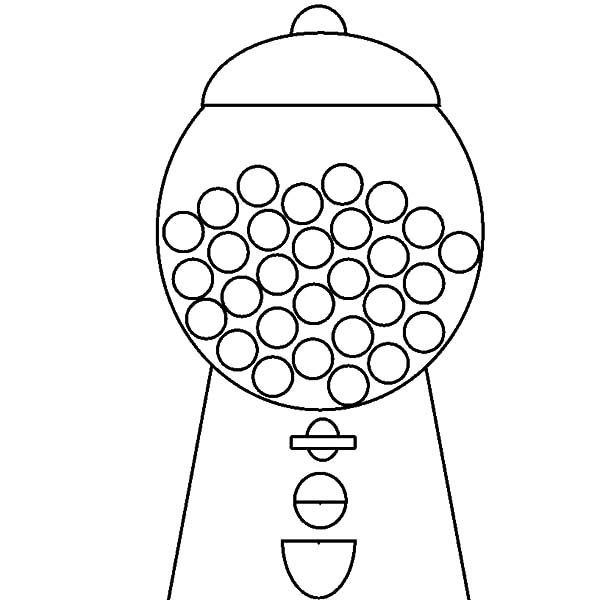 Gumball Machine Drawing at GetDrawings.com | Free for ...