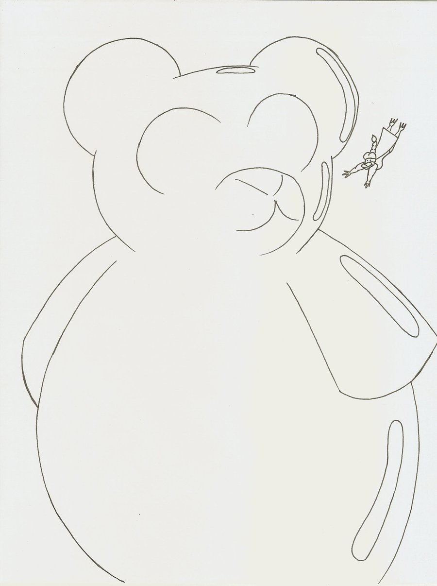 900x1206 Giant Gummy Bear Attack By Robot001