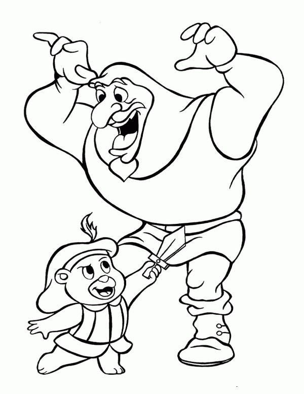 600x776 Gummi Bears Coloring Pages 1 Coloring Gummi Bears