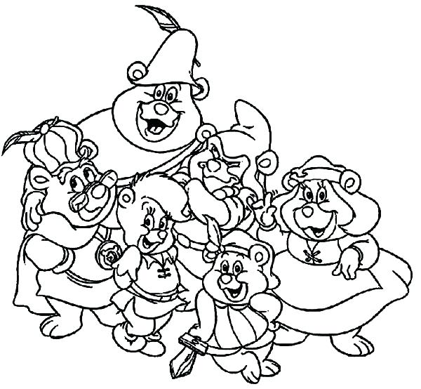 gummi bears coloring pages - gummy bears drawing at free for personal