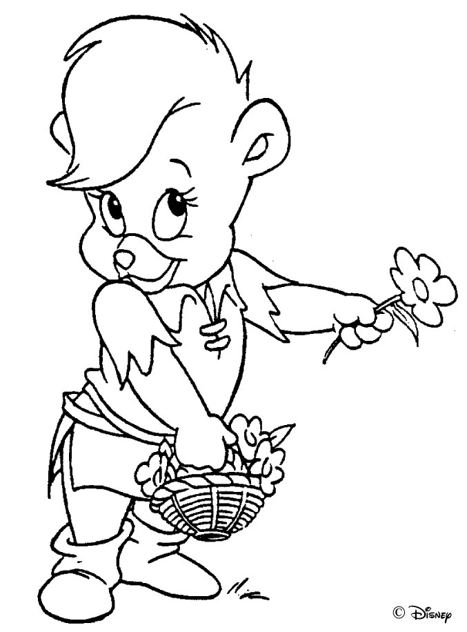 677x916 Gummi Bears Coloring Pages