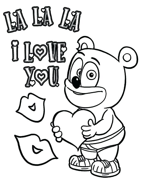 600x776 Gummy Bear Coloring Page Bears Coloring Pages 1 Im A Gummy Bear