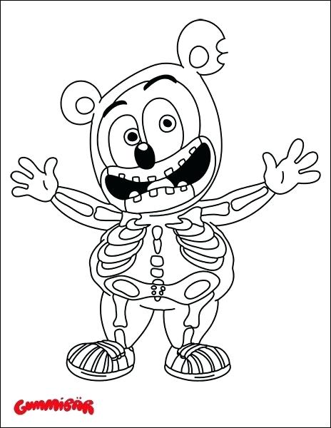464x600 Gummy Bear Coloring Page Download A Free Coloring Page Today Gummy