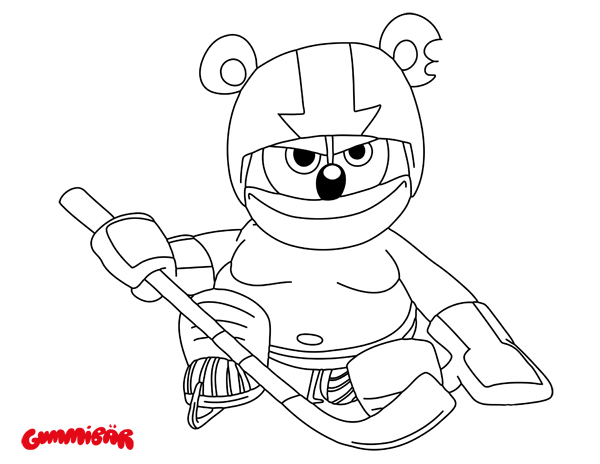 600x464 Gummy Bear Coloring Pages Bees Gummy Bear Clip Art