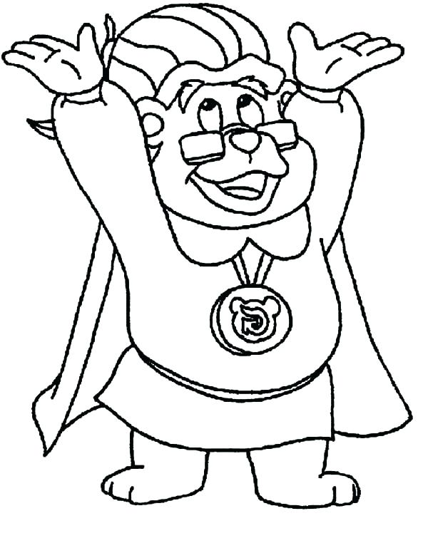 600x762 Inspirational Gummy Bear Coloring Page Fee Happy Colouring Pages