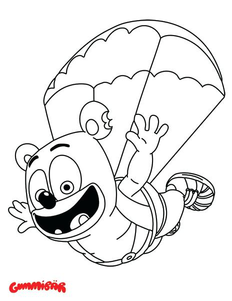 464x600 Gummy Bear Coloring Pages Joandco.co
