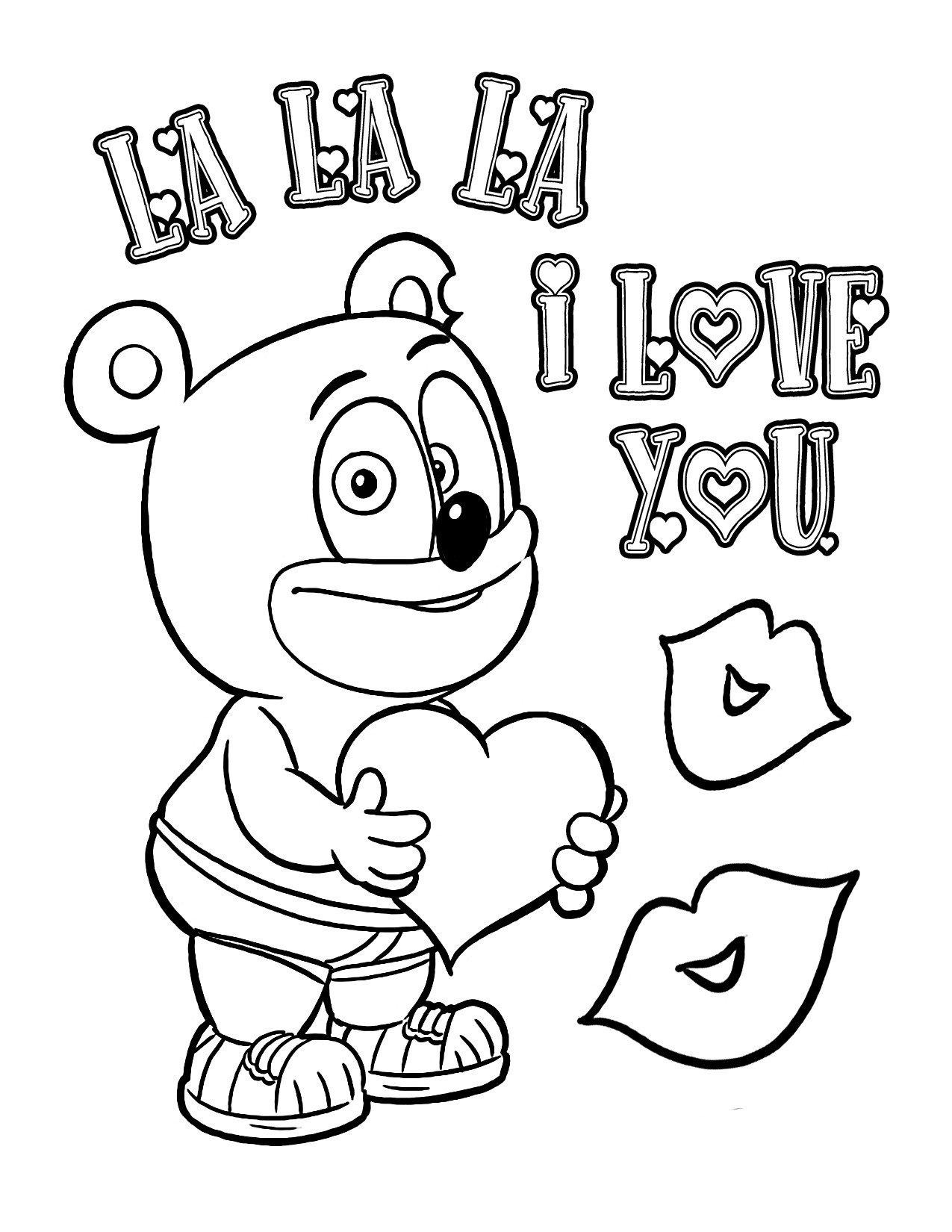 1275x1650 Cavin Gruffi From Gummi Bears Coloring Pages For Kids Beautiful