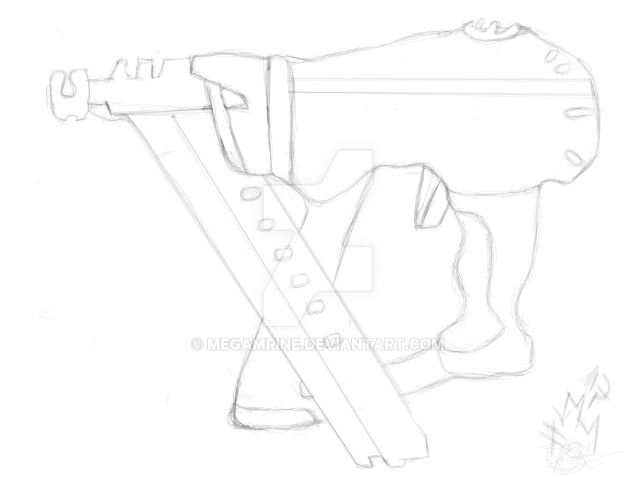 900x675 Nail Gun Sketch By Megamrine