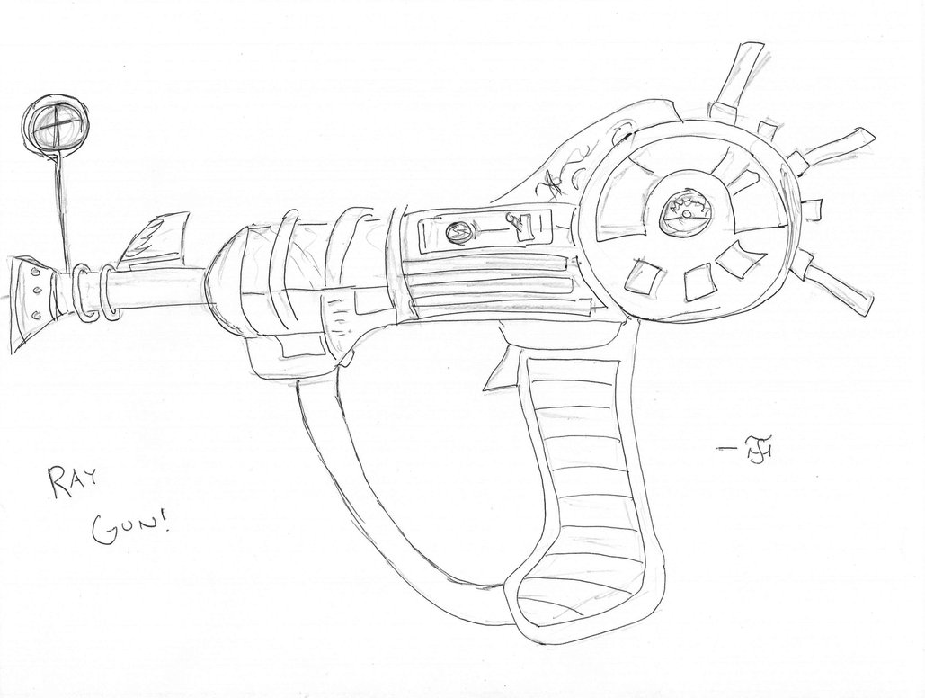 1029x776 Ray Gun Picture by MassZombiesMZS on DeviantArt