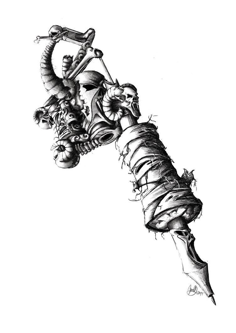 tattoo gun by lazbathory on DeviantArt  |Tattoo Gun Drawing